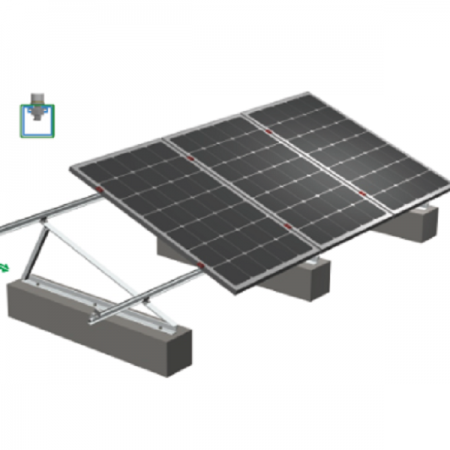 Solar roof adjustable triangle bracket manufacturer