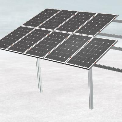 Pole ground solar mounting system manufacturer